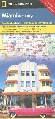 National Geographic Destination Map Miami & the Keys